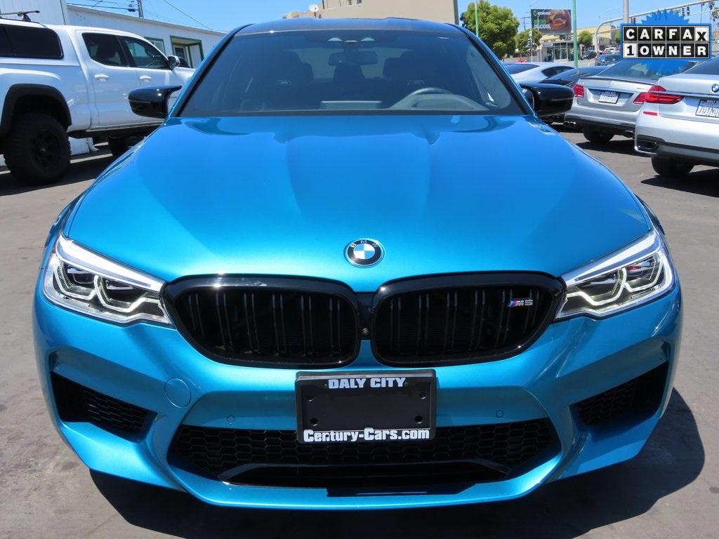 2020 BMW M5 Competition 4D Sedan