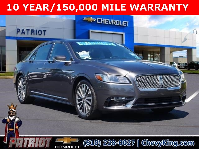 2018 Lincoln Continental for sale at Patriot Auto Group