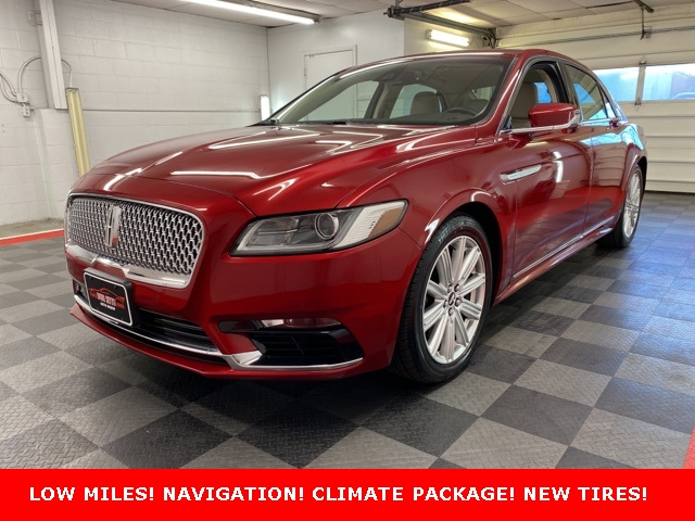 2017 Lincoln Continental Reserve for sale at Don Sitts Auto Group