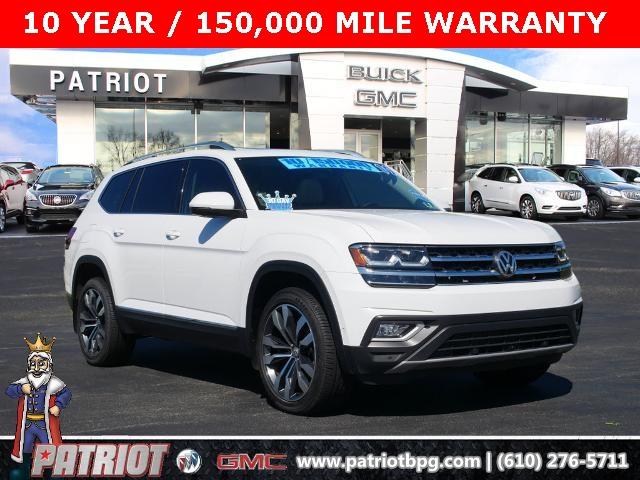 2019 Volkswagen Atlas for sale at PATRIOT BUICK GMC OF BOYERTOWN