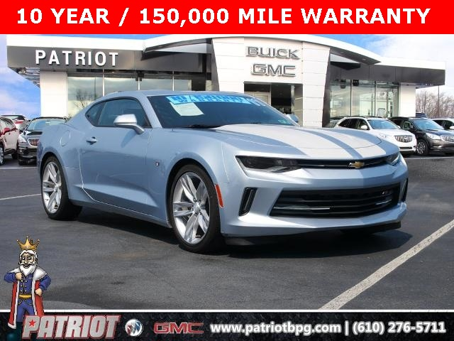 2017 Chevrolet Camaro for sale at PATRIOT BUICK GMC OF BOYERTOWN
