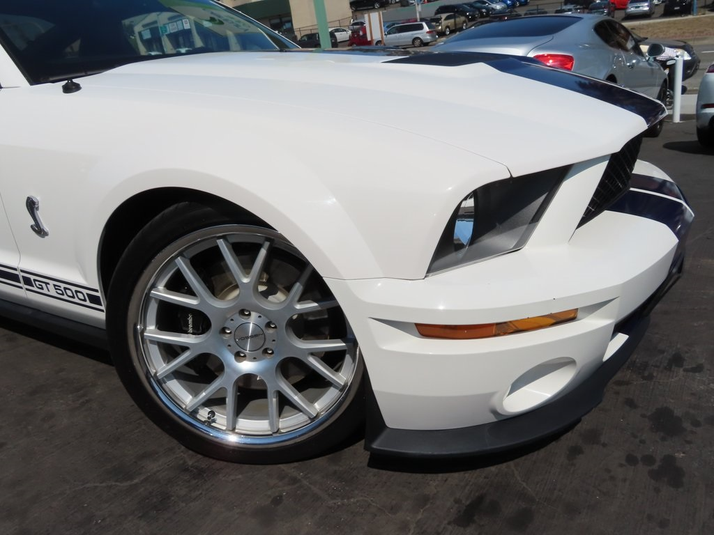 2007 Ford Mustang Shelby GT500 2D Coupe