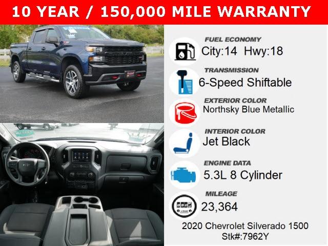 2020 Chevrolet Silverado 1500 Custom Trail Boss for sale at PATRIOT BUICK GMC OF BOYERTOWN