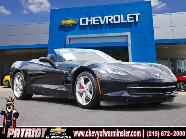 2014 Chevrolet Corvette Stingray for sale at PATRIOT CHEVROLET OF WARMINSTER