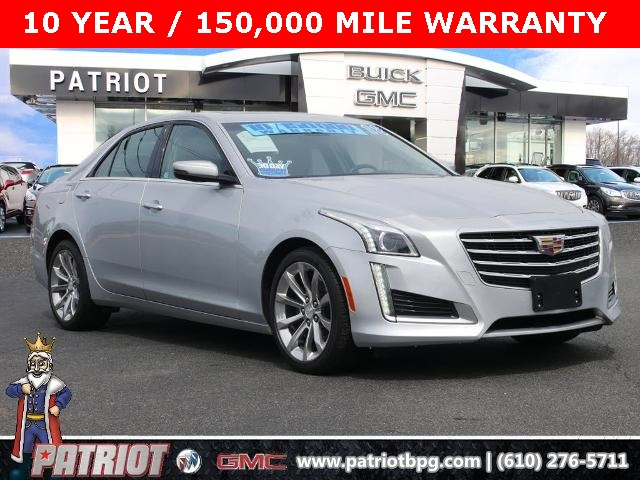 2018 Cadillac CTS 2.0L Turbo Luxury for sale at PATRIOT BUICK GMC OF BOYERTOWN