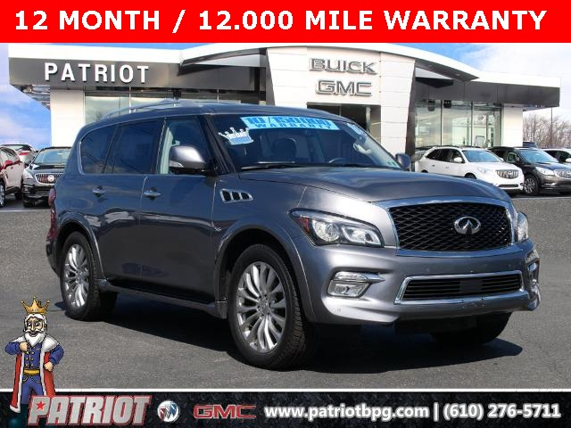 2016 INFINITI QX80 for sale at PATRIOT BUICK GMC OF BOYERTOWN