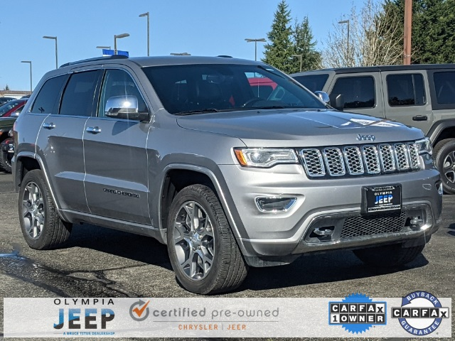 Certified Pre-Owned 2020 Jeep Grand Cherokee Overland