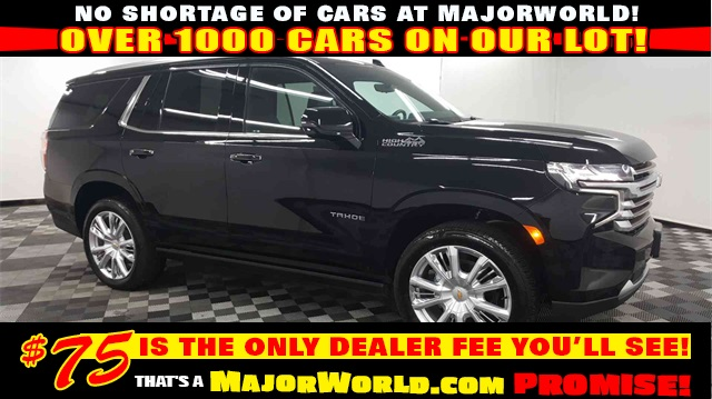 Pre-Owned 2021 Chevrolet Tahoe High Country