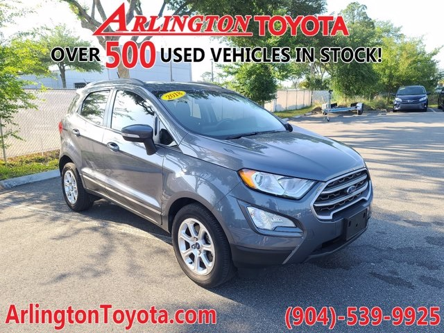 Pre-Owned 2018 Ford EcoSport SE FWD 4D Sport Utility