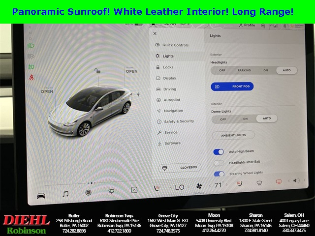 2020 Tesla Model 3 4dr Car