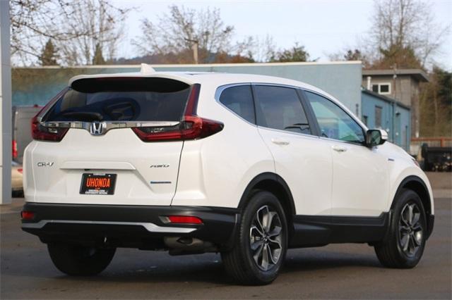 New 2021 Honda CR-V Hybrid EX-L
