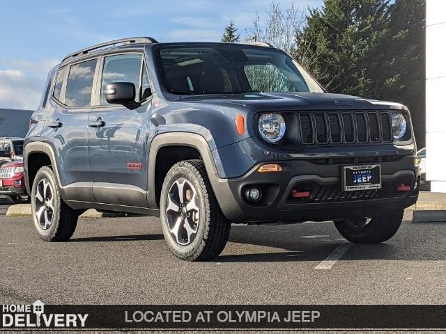 New 2021 Jeep Renegade Trailhawk
