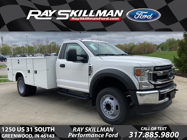 New 2021 Ford F-550SD XL