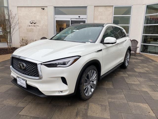 New 2021 INFINITI QX50 SENSORY AWD