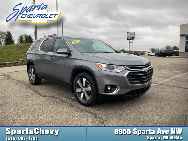 Pre-Owned 2018 Chevrolet Traverse LT Leather AWD 4D Sport Utility