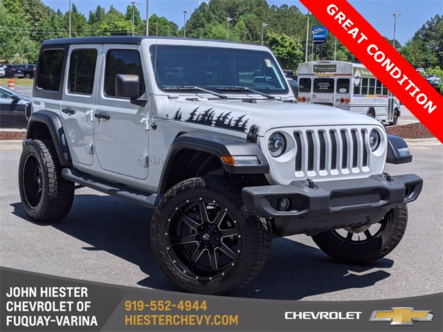 2020 Jeep Wrangler Unlimited Sport S photo
