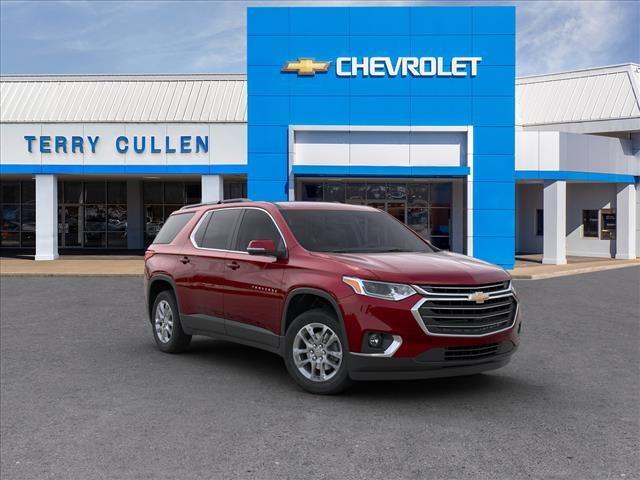 The 2020 Chevrolet Traverse LT photos