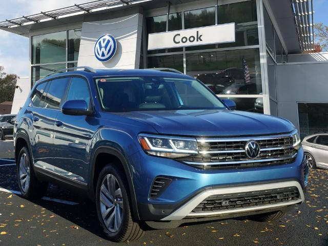 The 2021 Volkswagen Atlas SEL photos