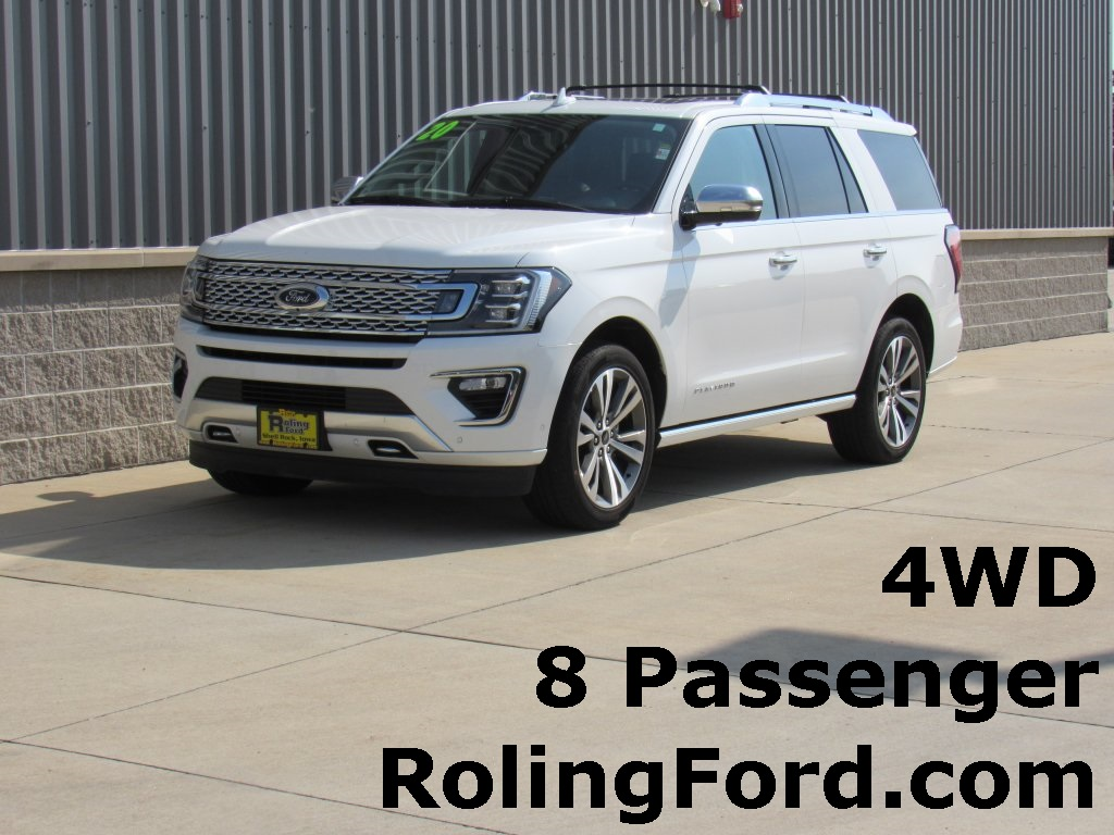 The 2020 Ford Expedition Platinum photos