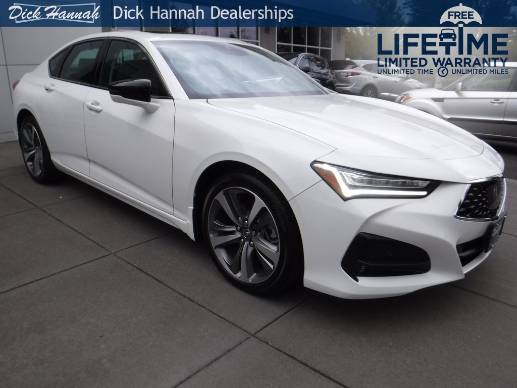 Dick Hannah Dealerships - 2021 Acura TLX Advance For Sale in Vancouver, WA