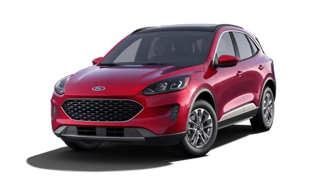 The 2020 Ford Escape SE photos