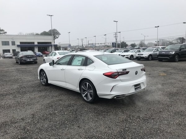 The 2021 Acura TLX Advance