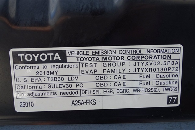 Used 2018 Toyota Camry