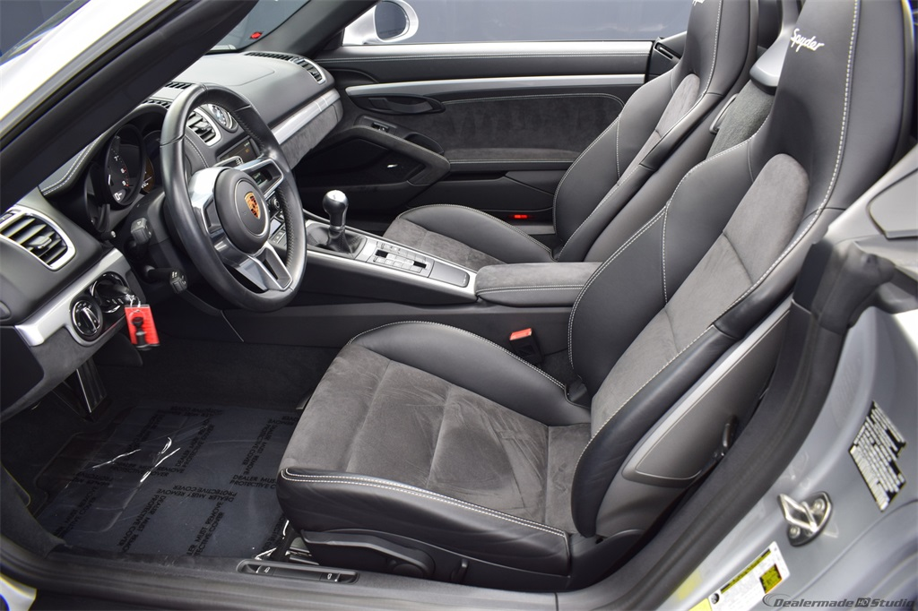 Certified Pre-Owned 2016 Porsche Boxster Spyder