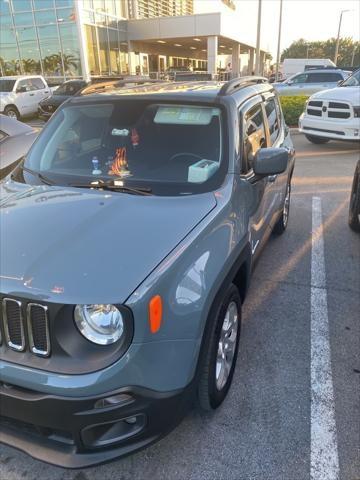 New 2018 Jeep Renegade Latitude