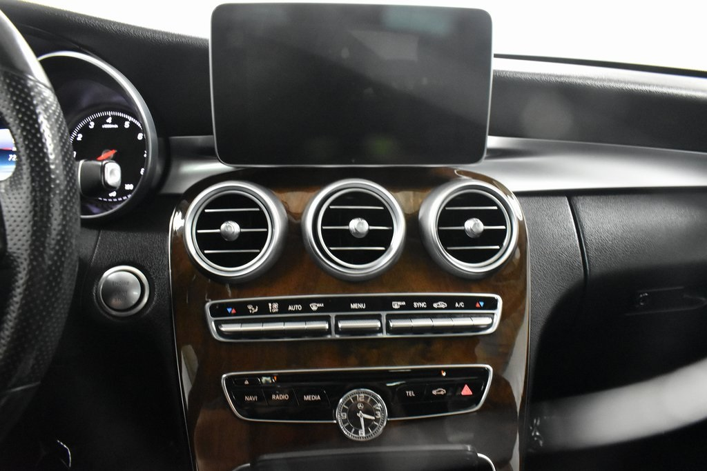 2015 Mercedes-Benz C-Class 4dr Car