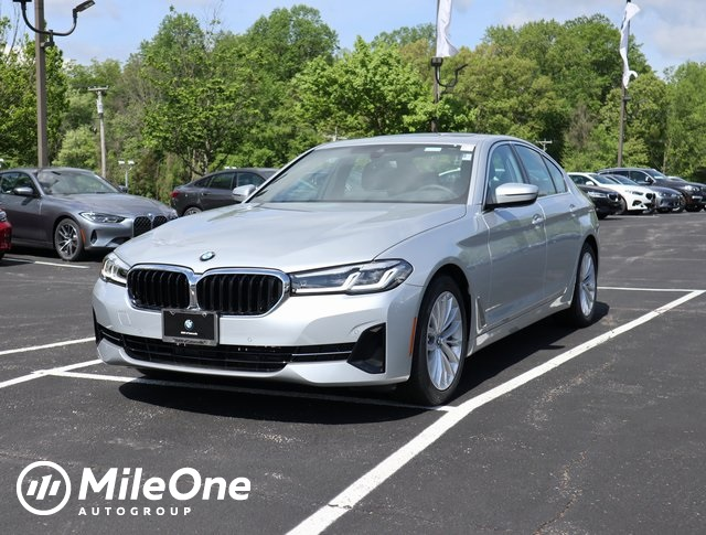 used 2021 BMW 5-Series car