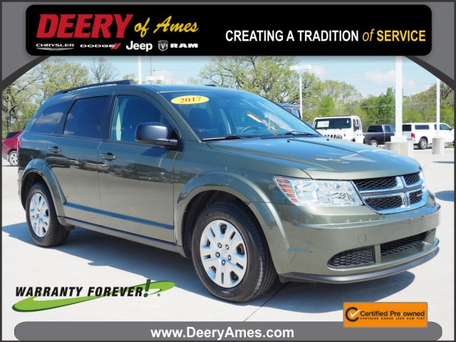 used 2017 Dodge Journey car, priced at $15,000