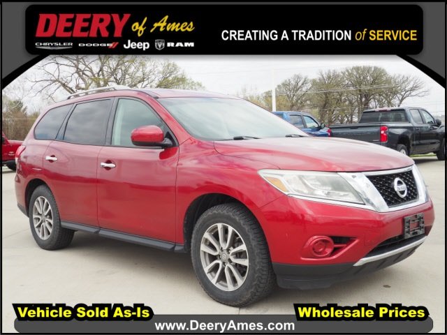 used 2013 Nissan Pathfinder car, priced at $12,500