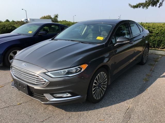 used 2017 Ford Fusion car, priced at $20,300