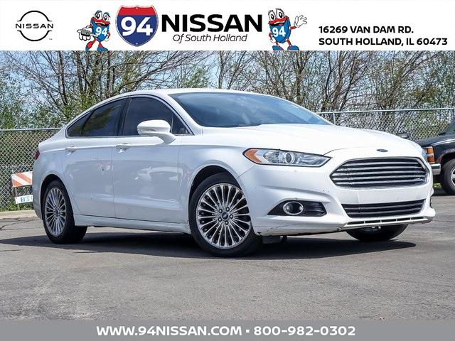 used 2016 Ford Fusion car, priced at $11,404