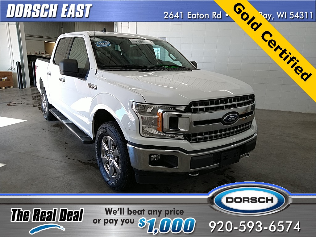 used 2019 Ford F-150 car, priced at $38,990