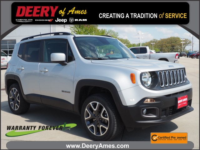 used 2018 Jeep Renegade car, priced at $21,000