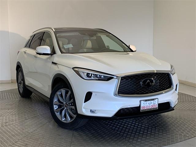 new 2021 INFINITI QX50 car, priced at $46,765
