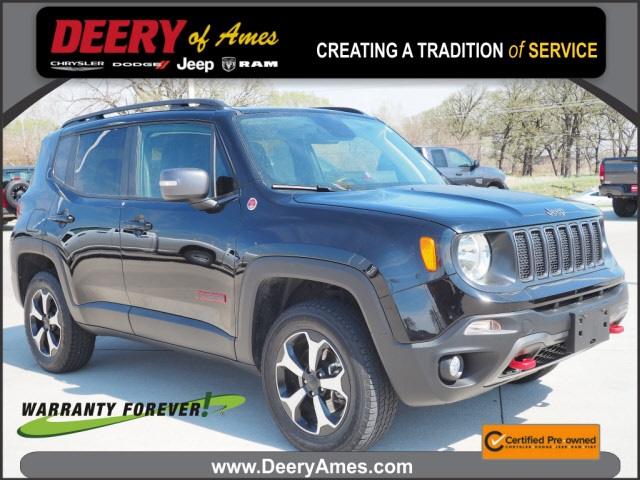 used 2019 Jeep Renegade car, priced at $24,000