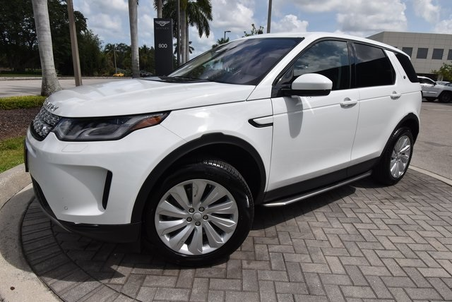 new 2020 Land Rover Discovery Sport car, priced at $52,483