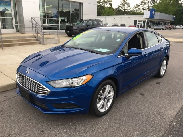 used 2018 Ford Fusion car, priced at $21,900